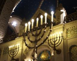 Menora Synagoge Rykestrasse