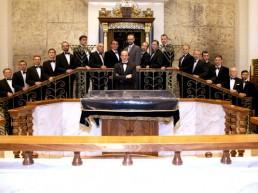 Der Male Choir of Cantorial Art Academy wurde 1989 mit persönlicher Unterstützung des damaligen Präsidenten der UdSSR, Michail Gorbatschow, unter Hilfe der russischen jüdischen Gemeinschaft und dem Joint Distribution Committee gegegründet.