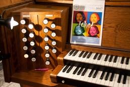 Orgel auf dem Louis Lewandowski Festival