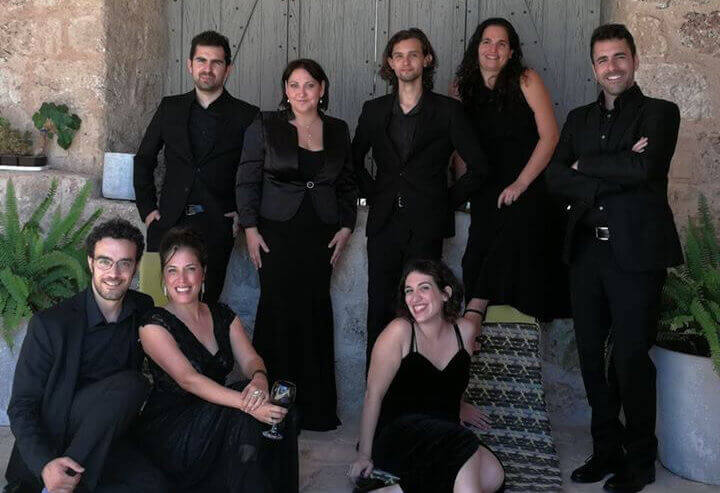 A new ensemble from the Moran Choirs group, the CECILIA ENSEMBLE, is comprised of eight outstanding solo vocalists from Israel.